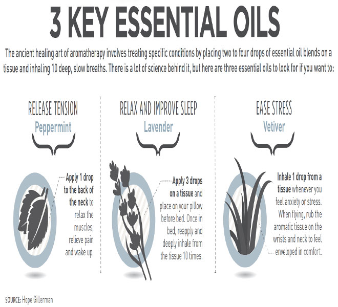 3 Key Essential Oils
